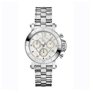 Guess Collection Gc Femme Mens Stainless Steel Case Chronograph Watch