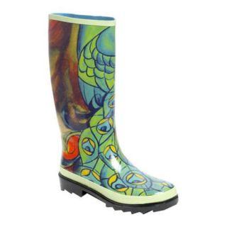Womens RainBOPS Classic Style Rain Boot Peek A Boo