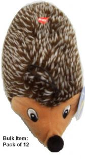 Party Pets 12 inch Hedgehog Dog Toy (Pack of 12)