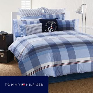 Tommy Hilfiger Heritage Red, White, Blue Plaid 3 piece Full/Queen