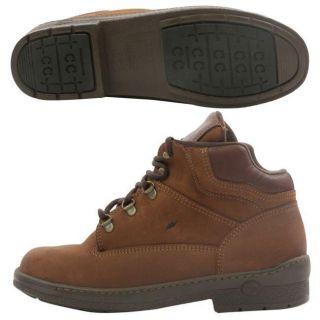Carolina Womens Chukka ST Brown Boots