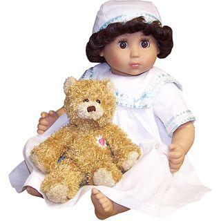 Me and Molly P. Catrina 18 inch Doll with Daisy Heart Bear