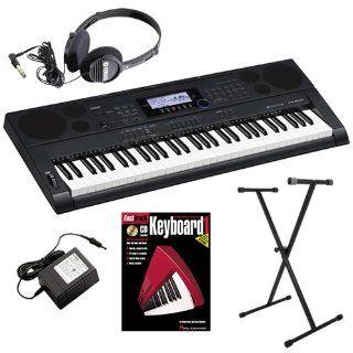 Casio CTK 6000 Keyboard ESSENTIALS BUNDLE w/ Stand and