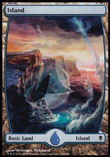 Magic the Gathering: Island (236)   Zendikar: Toys & Games