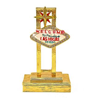 Objet dart Desert Welcome Las Vegas Trinket Box