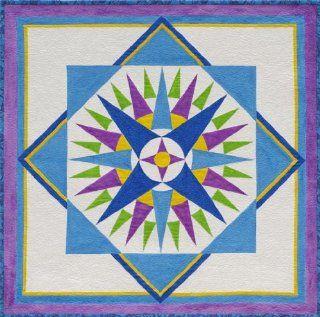 Starburst Compass Quilt Pattern By Cindy Walter Arts