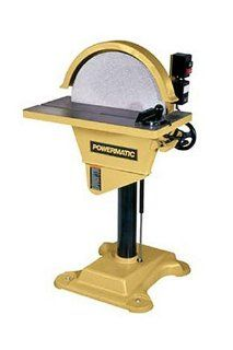 Disc Sander with Reversing Feature, 230 Volt 1 Phase