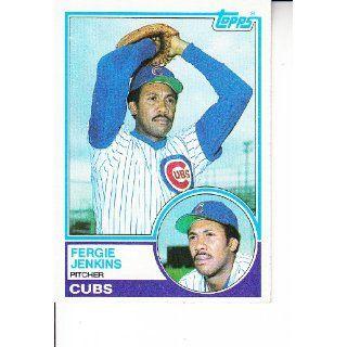1983 Topps #230 Fergie Jenkins Baseball