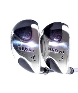 Wilson Mens Fat Shaft 8 piece Iron and Wood Set