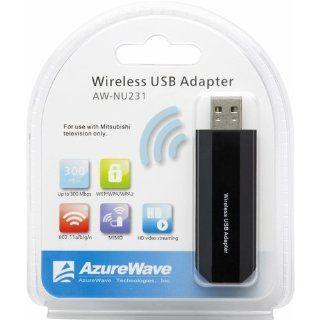 Mitsubishi AWNU231 IEEE 802.11n USB Wi Fi Adapter