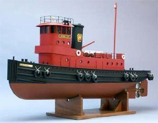The Jersey City Tug Boat Kit w/9 Beam (1/32 Scale) 36