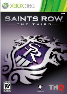 Xbox 360   Saints Row The Third   By THQ
