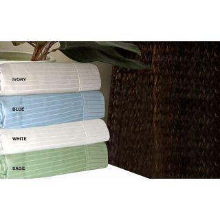 Pima Cotton 500 Thread Count Luxury Stripe Sheet Set