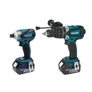 Makita LXT238X1 18V LXT Lithium Ion Hybrid Cordless Combo Kit, 2 Piece