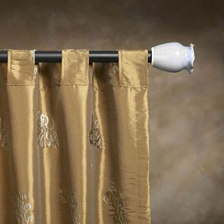 Cassidy West Art Guild 76 to 148 inch Adjustable Curtain Rod Set
