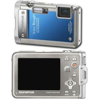 Olympus Stylus Tough 8010 14MP Blue Digital Camera (Refurbished