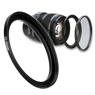 52mm to 58mm Camera Lens Filter Step Up Adapter Ring