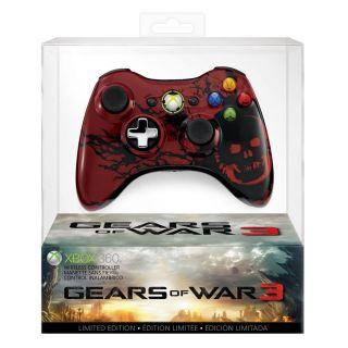 Gears of War 3 Xbox 360 Wireless Controller   By Microsoft
