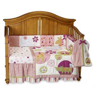 Lambs & Ivy Lollipop Jungle 5 piece Crib Bedding Set