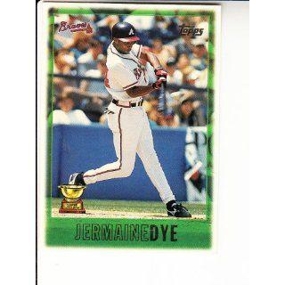 1997 Topps #239 Jermaine Dye Baseball