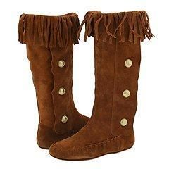 Steve Madden Frinngee Brown Suede Boots