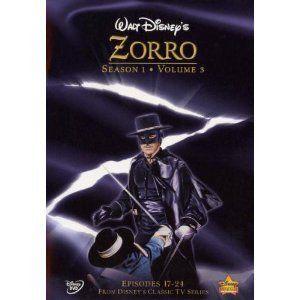 Walt Disneys Zorro   Season 1   Volume 3 Guy Williams