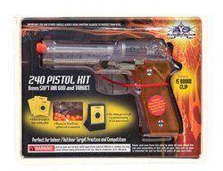 Spring Daisy Air Strike Pistol FPS 240 Airsoft Gun: Sports & Outdoors
