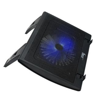 SYBA Connectland Black Adjustable Laptop Cooling Pad