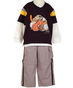 Flapdoodles Boys Midnight Sports Outfit