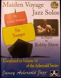 Maiden Voyage Jazz Solos for Trumpet (Correlated to Volume 54 of the