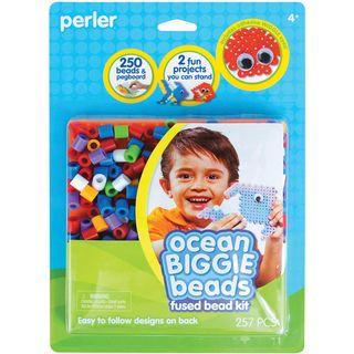 Perler Fun Fusion Biggie Fuse Bead Activity Kit Ocean
