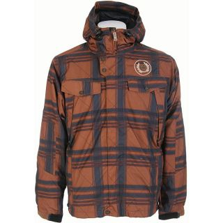 Sessions Foursome Mens Sargent Plaid Snowboard Jacket