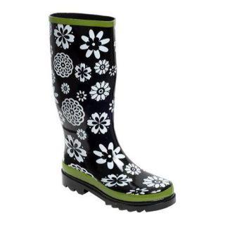 Womens RainBOPS Classic Style Rain Boot Whimsy