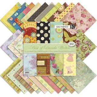 Best of Brenda Walton 150 sheet 12x12 inch Designer Paper Pad