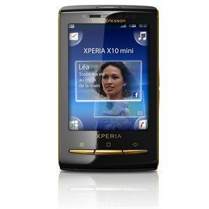 Avis Sony Ericsson XPERIA X10 Mini Noir et Or –