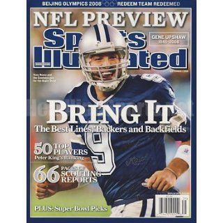 2008 Tony Romo Regional No Label Sports Illustrated