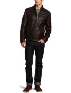 Marc New York by Andrew Marc Mens Cruz Soft Leather Open