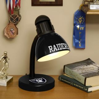 Oakland Raiders Desk Lamp