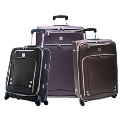 Olympia Skyhawk 3 piece Expandable Spinner Luggage Set Today $191.32