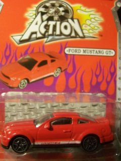 Action Diecast Metal and Plastic ~ Ford Mustang GT (Red