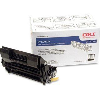 Black Toner Cartridge for Oki B720N and B720DN 20K Page