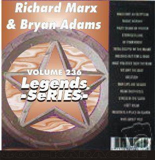 Marx and Bryan Adams 17 Song Karaoke CD+G Legends #236 Legends Music