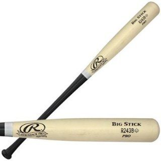 Rawlings R243M Professional Grade Maple Wood Bat   34 Inch