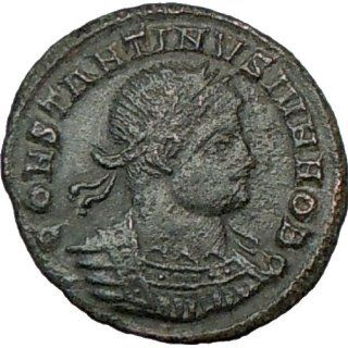 CONSTANTINE II Jr. 337AD Authentic Ancient Genuine Roman Coin Legions