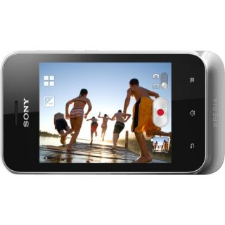 Sony Mobile XPERIA tipo dual Smartphone   Wi Fi   3G   Bar   Silver