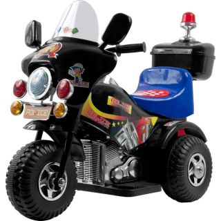 Lil Rider Black Battery Operated 3 wheel Bike