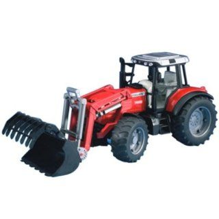 Massey Ferguson 7480 with frontloader Toys & Games
