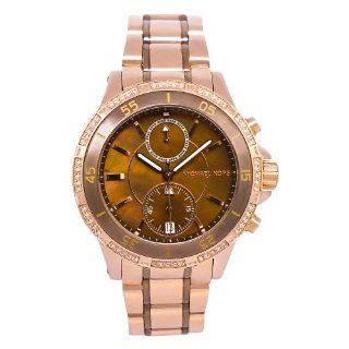 Michael Kors Chronograph Two Tone Dial Womens Watch MK5553 Watches