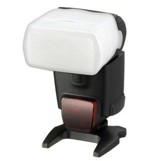 White Flash Bounce Diffuser for Canon 580EX