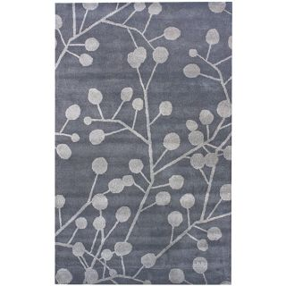 Handmade Luna Marrakesh Wool Rug (76 x 96)
